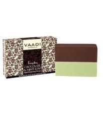 Vaadi Herbals Tempting Chocolate & Mint Soap-Deep Moisturising Therapy