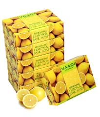 Vaadi Herbals Super Value Pack Of 6 Refreshing Lemon And Basil Soap