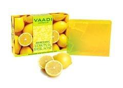 Vaadi Herbals Refreshing Lemon And Basil Soap