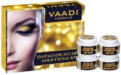 Vaadi Herbals Instaglow 24 Carat Gold Facial Kit 270GM