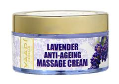 Vaadi Herbals Lavender Anti Ageing Massage Cream, 50g