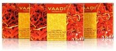 Vaadi Herbals Value Pack Of 3 Luxurious Saffron Soap - Skin Whitening Therapy