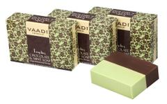 Vaadi Herbals Value Pack Of 3 Tempting Chocolate & Mint Soap-Deep Moisturising Therapy