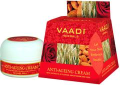 Vaadi herbals Anti-ageing Cream - Almond, Wheatgerm Oil & Rose (30 gms)