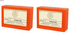 Khadi Orange Soap, 125g (Pack of 2)