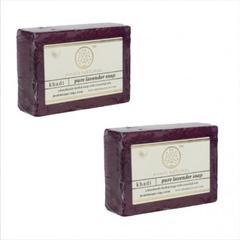 Khadi Natural Herbal Pure Lavender Soap(Set of 2)