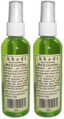 Khadi Natural Mint And Cucumber Face Spray (Set of 2)