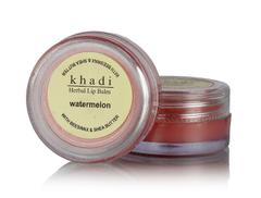 Khadi Natural Watermelon Lip Balm With Beeswax and Sheabutter, 10gms