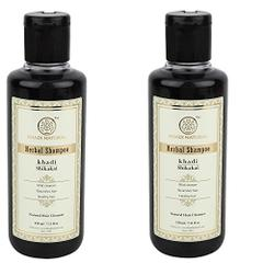 Khadi Herbal Shikakai Shampoo, 210ml (Pack of 2)