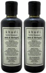 Khadi Natural Amla & Bhringraj Shampoo  (420 ml)