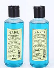 Khadi Herbal Green Apple + Conditioner Shampoo ( Pack of 2 )420ML