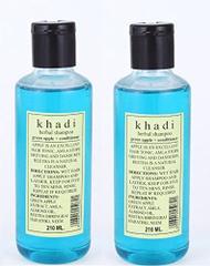 Khadi Herbal Green Apple + Conditioner Shampoo ( Pack of 2 )420ML