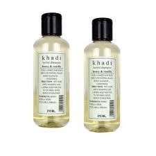 Khadi Natural Herbal Shampoo Honey & Vanilla (Set of 2)