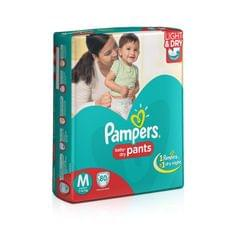 Pampers Medium Size Diaper Pants (80 Count)