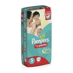 Pampers Small Size Diaper Pants (Pack of 42)