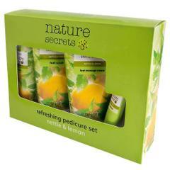 Oriflame Nature Secrets Refreshing Pedicure Set Nettle & Lemon