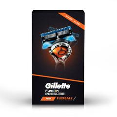 Gillette Flexball Pro Glide Gift Pack -Flexball Razor with 4 Flexball Cartridge Save Rs 499