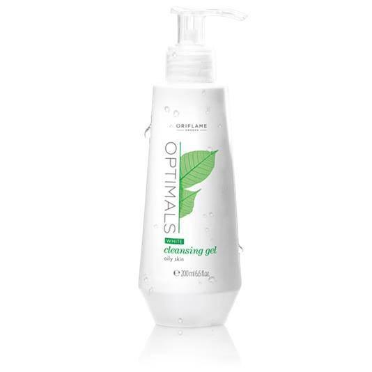 Oriflame Optimals White Cleansing Gel Oily Skin