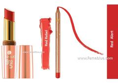 Lakme Lip Combo ( 9 to 5_Red Rebel + Red Alert )