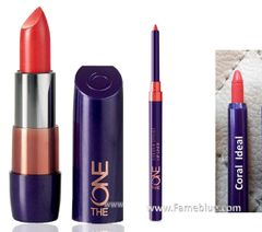 Oriflame Lip Combo (The One Coral Ideal + Coral Ideal Liner)