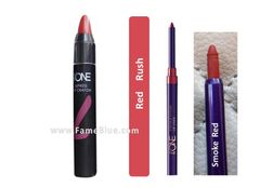Oriflame Lip Combo( The One colour_Red Rush + Smoke Red Liner)
