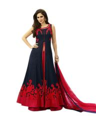 Red Colour Embroidered Designer Lehenga Choli