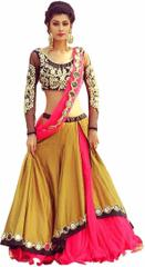 Mustard color Embroiderd Designer Lehenga Choli