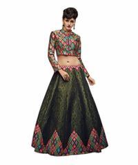 New Fancy Bollywood Designer Party Wear Digital Print Lehenga Choli