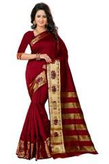 RED COLOR Banarashi Silk Saree & Blouse