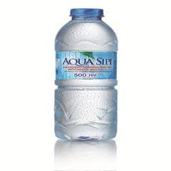 AQUA SIPI DRINKING WATER-24 X 500 ML WITH ADDED MINERALS