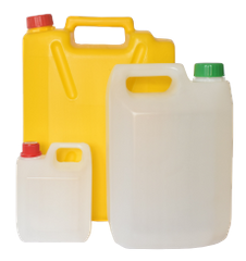 EMPTY JERRY CAN - 20 LTRS - MANGO YELLOW