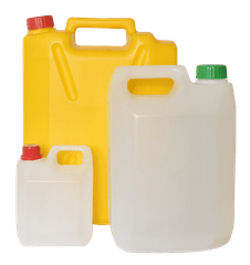 EMPTY JERRY CAN - 10 LTRS - MANGO YELLOW