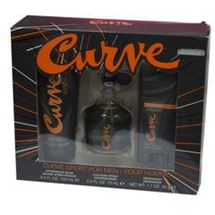 Curve Sport Perfume Set (Perfume,After Shave And Deodrant)