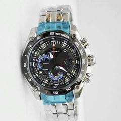 Black And Silver Men's Watch