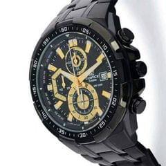 Edifice Casio Gold And Black Men's Watch