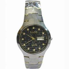 Rado Silver And Black Men's Watch