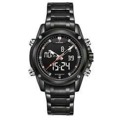 Naviforce Black Men's Watch
