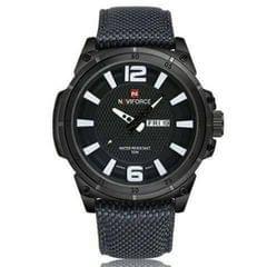 Black Naviforce Men's Watch