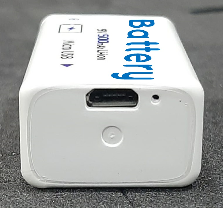 9v usb rechargeable battery pp3
