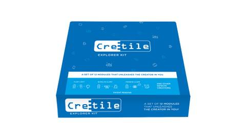 Explorer Kit: 12 Cretiles, 4 Accessories