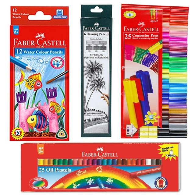 Faber Castell Creative Artists Kits 1 Art Set (FCACS10)