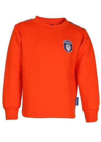 Gyanshree Orange Sweatshirt (Class 1 to 8)