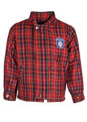 Gyanshree Red Check Jacket (Pre Primary)