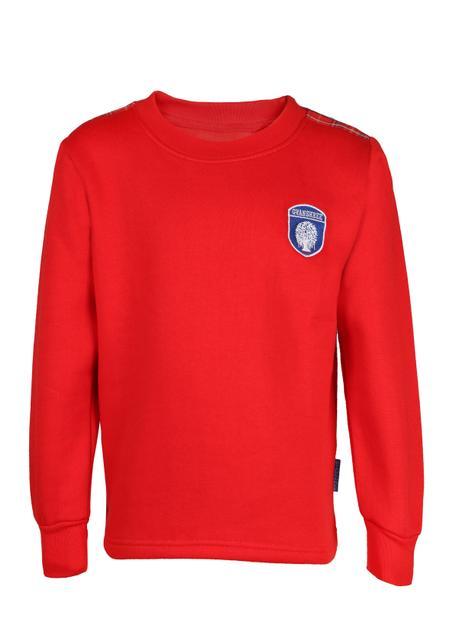 Gyanshree Red Sweatshirt (Pre Primary)