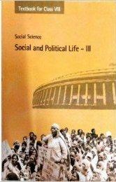SOCIAL AND POLITICAL LIFE PART 3 (Class 8)