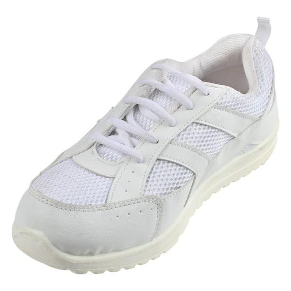 Liberty ckm Laces White Shoes
