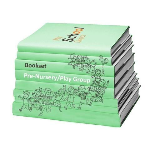 Bhartiyam International School Pre Nursey Book Set