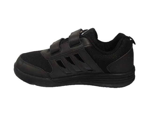 Adidas  Black Velcro School Shoe