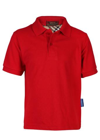 Gyanshree Half Sleeves Red T-Shirt (Pre Primary)