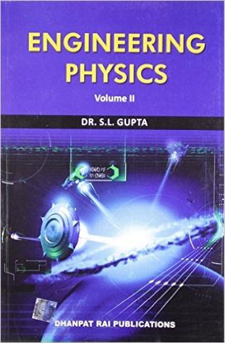 Engineering Physics (Vol. II) for (MDU)